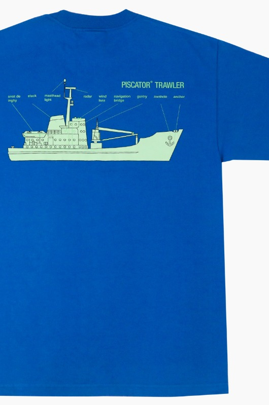 PISCATOR Trawler S/S R.Blue